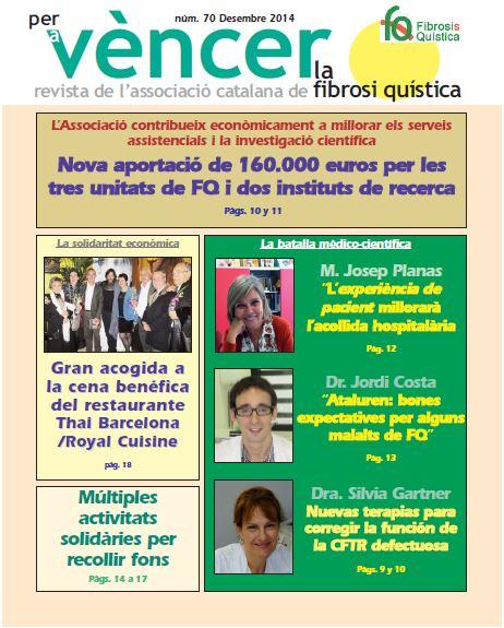 Revista Per A Vèncer La Fibrosi Quística N70