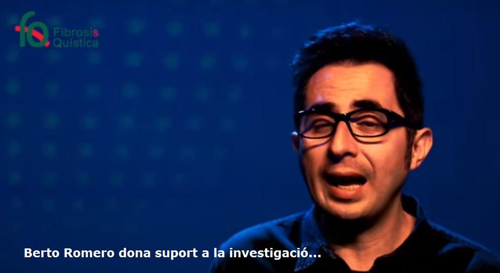 Berto Romero Dona Suport A La Investigació