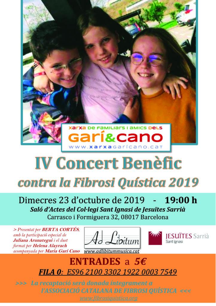 CARTELL IV Concert Benefiic 2019 copia