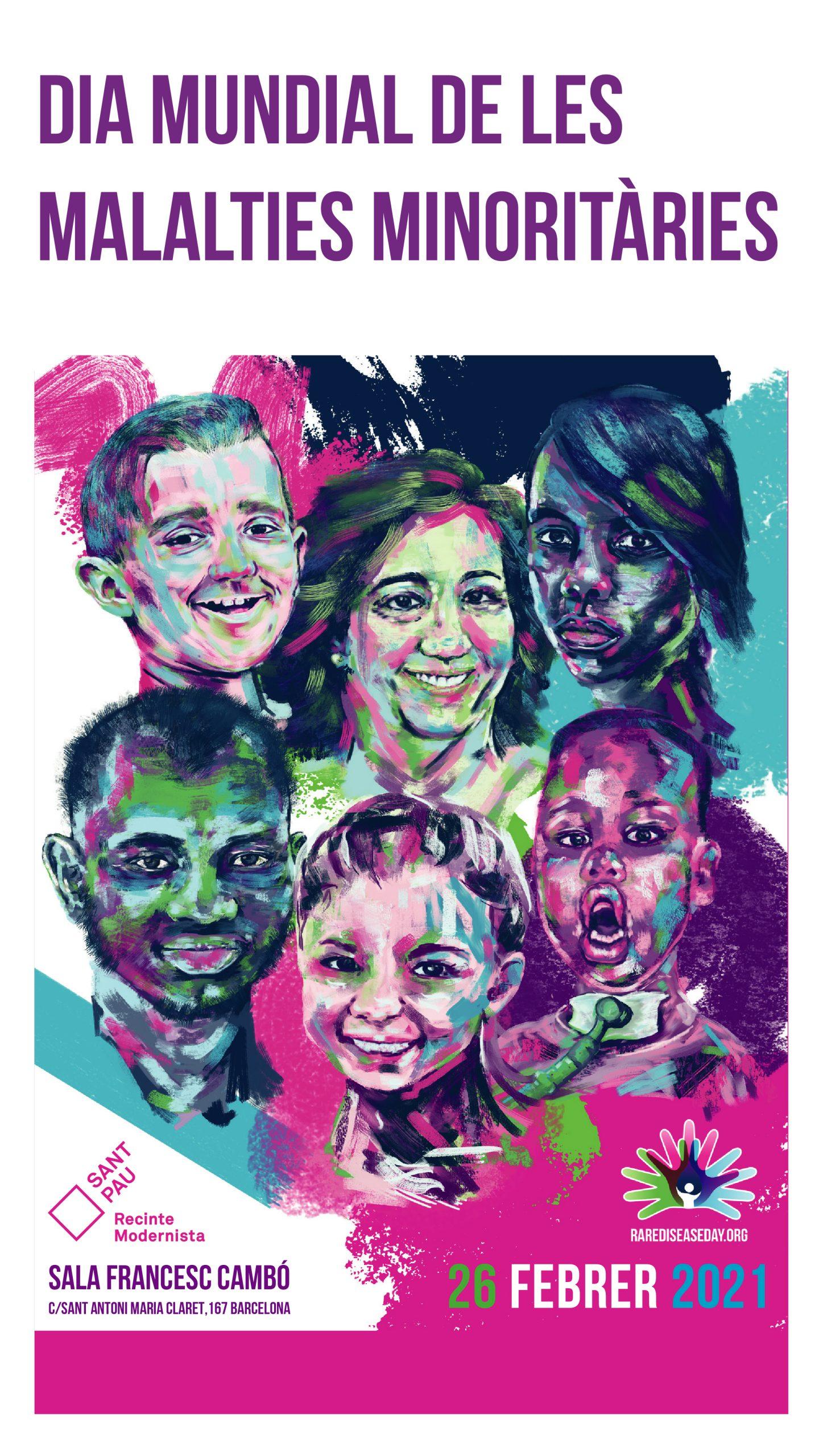 Dia Mundial Malalties Minoritàries 2021