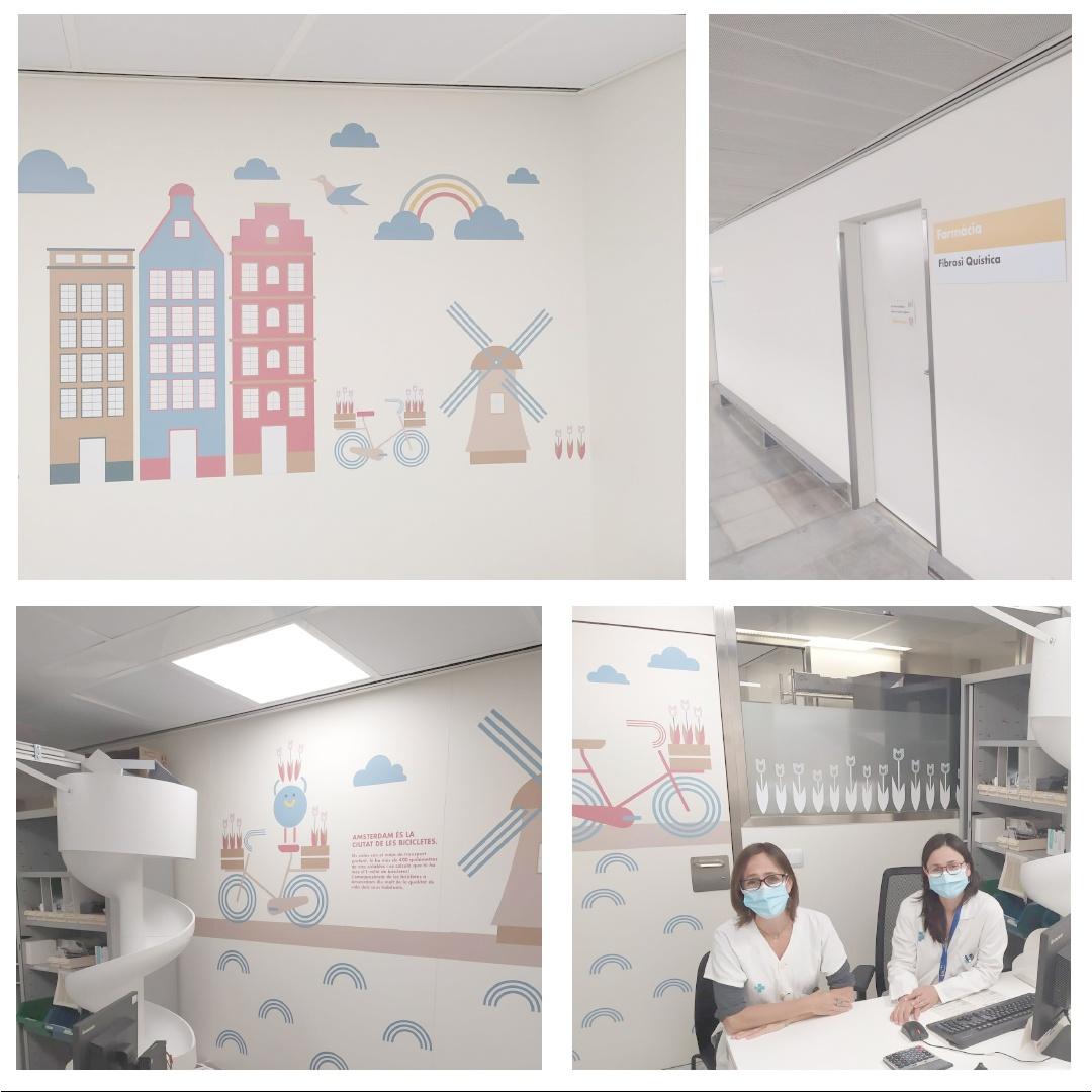 Nova Unitat D'atenció Farmacèutica I Dispensació De Medicació Per A Persones Amb FQ A L'Hospital Universitari Vall D'Hebron