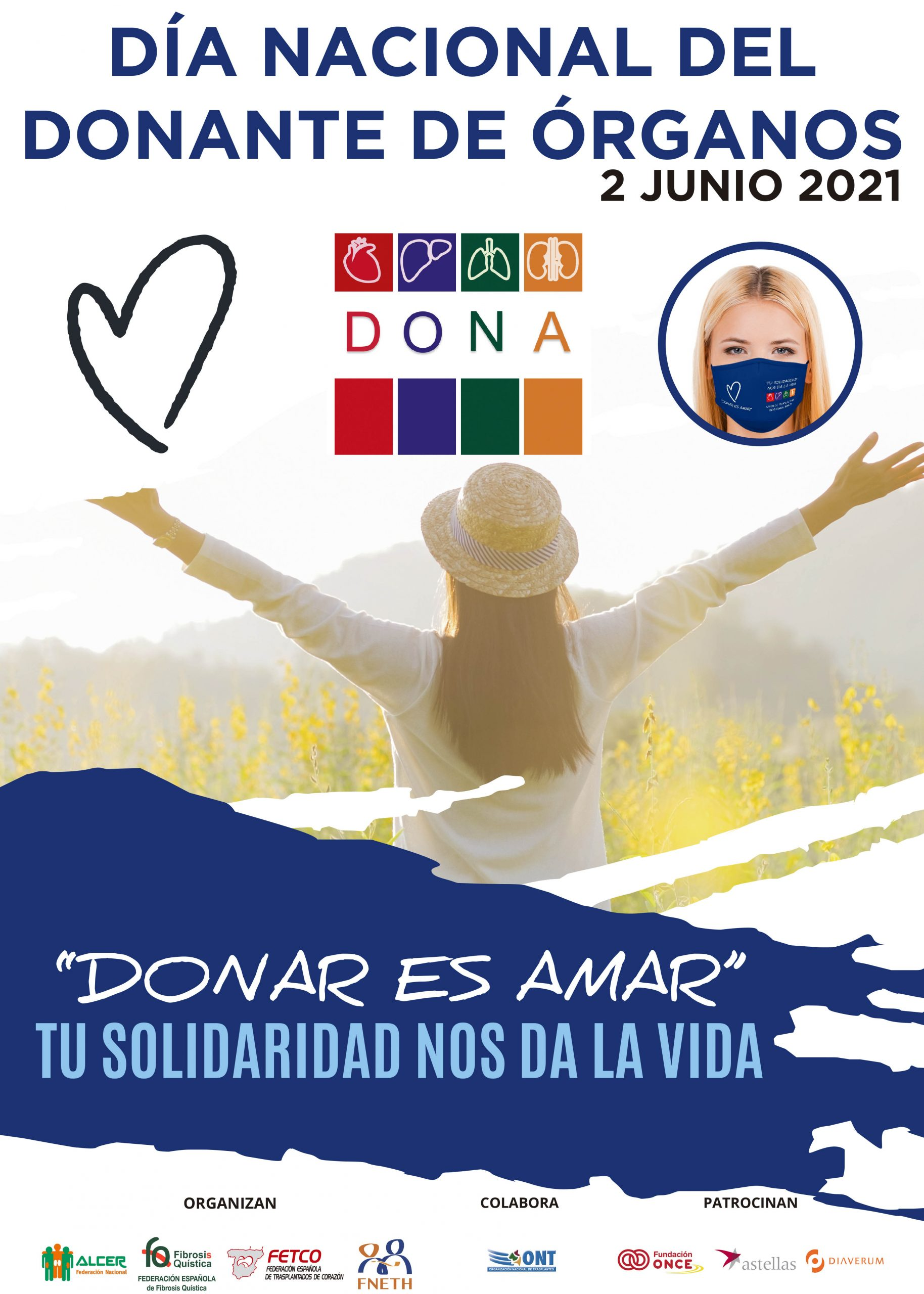 Día Del Donante 2021. Nota De Prensa De La Federación Española De Fibrosis Quística