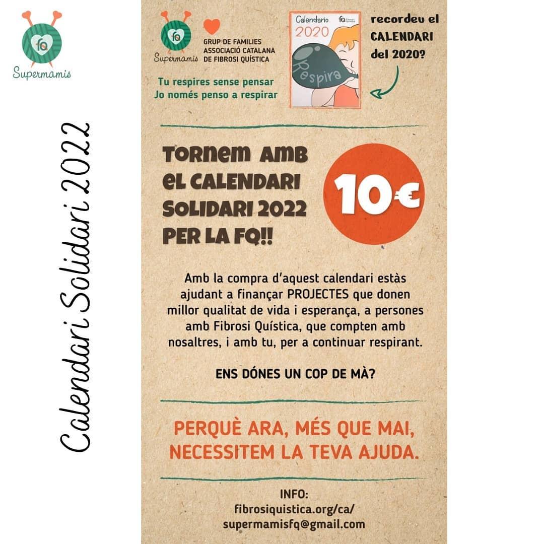 Calendari Solidari FQ 2022 De Les Supermamis